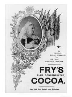 Frys Cocoa to Celebrate Queen Victorias Diamond Jubilee Giclee Print