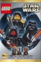 Lego Star Wars #3340 Sith 3 Pack Maul Vader Palpatine