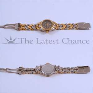Mens Tag Heuer SEL Mid Size Two Tone Gold Plated Wristwatch Excellent