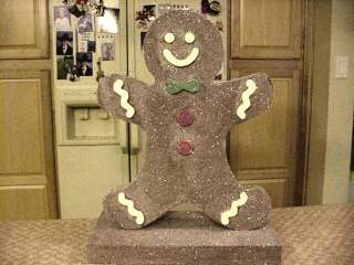 Candy Land Gingerbread Man Table Center Piece
