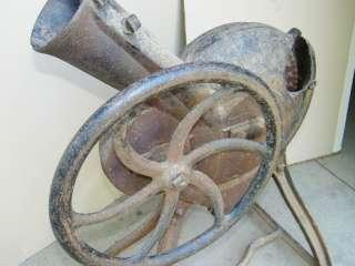 ANTIQUE CORN SHELLER CAST IRON VINTAGE OLD GOULDS GRINDER HAND CRANK