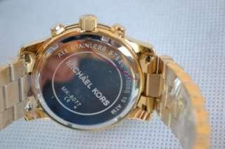 Michael Kors Gold Tone Mens Watch MK8077 #34