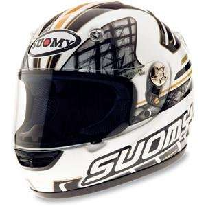 Suomy Vandal Brand Helmet   Large/White/Black Automotive