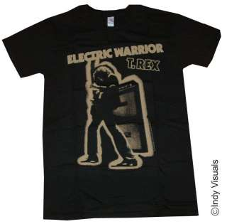 Rex Marc Bolan Electric Warrior Album Cover T Shirt