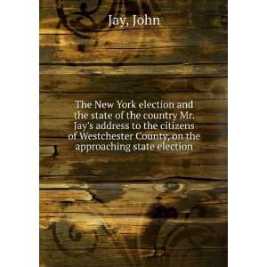 The New York election and the state of the country  Mr
