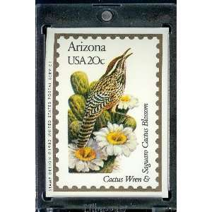 1991 Bon Air Arizona Stamp Replica Trading Card #3 Sports & Outdoors