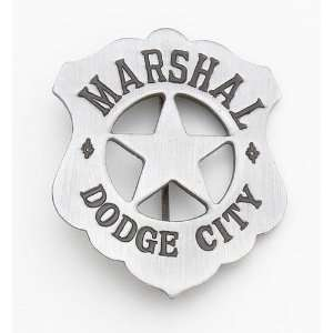 DELUXE DODGE CITY MARSHALL BADGE: Everything Else