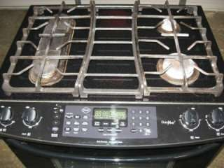 Dual Fuel Range   Kenmore Elite Black Slide in Stove & Oven # 790