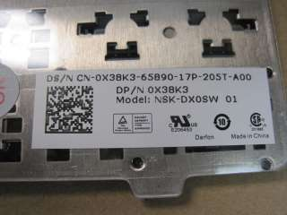 DELL Vostro 1540 keyboard NSK DX0SW OX08K3 new genuine