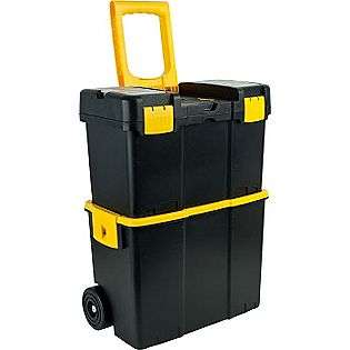 Stackable Mobile Tool Box with Wheels  Trademark Tools Tools Tool