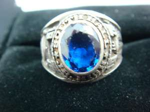 Vintage Sterling Silver South Hall Jr. High 1976 Ring