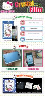 Hello Kitty Crystal Screen Protector filter film for Samsung Galaxy