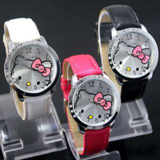 Colors Hello Kitty Ladies Quartz Watch cute Wristwatch