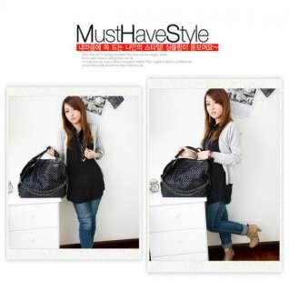 Style Lady Girl Hobo PU Leather Pattern Handbag Shoulder Bag