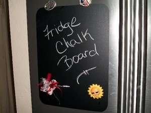 Chalk Board Refrigerator Peel & Stick Chalk Board Decal