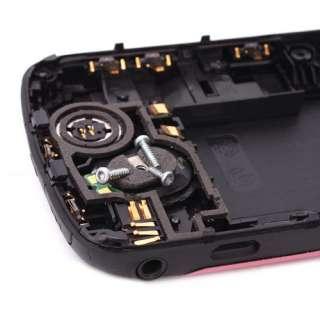 Deep Pink Flower Full Housing Cover Case For Blackberry Curve 8520