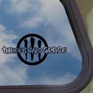 Three Days Grace Black Decal Rock Band Truck Window