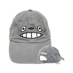 My Neighbor Totoro Smiling Face Adjustable Gray Baseball