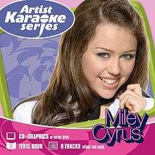 Cyrus Artist Karaoke Series CD   Walt Disney Records