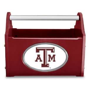 Texas A&M Aggies TAMU NCAA Decorative Caddy: Sports