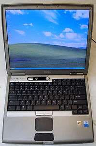 DELL LATITUDE D600 LAPTOP PENTIUM M 1.4 GHz 30GB HD 1GB RAM DVD WIFI