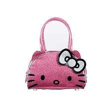 Hello Kitty Glitter Bowler Bag   Pink   Fashion Accessory Bazaar