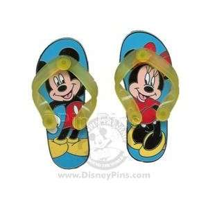 Disney Pins   Sandals / Flip Flops   Mickey and Minnie Mouse Pin Set