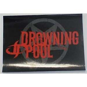 DROWNING POOL: DESENSITIZED STICKER