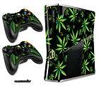 STICKERS 4 NEW XBOX 360 SLIM CONTROLLER MOD  WEEDS 420