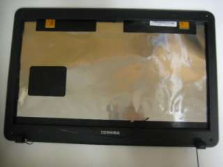 Toshiba Satellite C655D V000220020 LCD Black Back Cover With Front