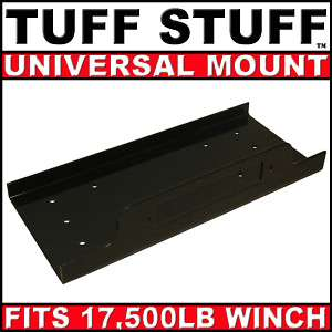 LARGE UNIVERSAL WINCH MOUNTING PLATE / TRAILER MOUNT