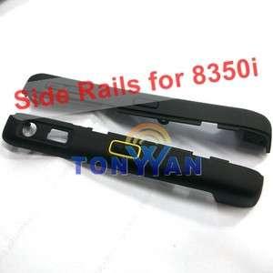 Black Side Rails cove with PTT button housing for BlackBerry Nextel