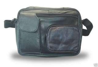 Lambskin Leather Shoulder Bag/Travel Bag w/cell holder