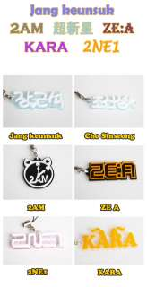 POP STAR [Jang Keun Suk KARA 2NE1 ZEA   CELL / MOBILE PHONE STRAP