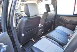 FORD EXPLORER SPORTTRAC 2001 2005 S. LEATHER SEAT COVER