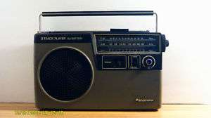 Vintage Panasonic RQ 832 Portable 8 Track Player Radio