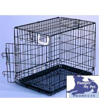 General Cage Extra Large Fold Down Dog Pet Crate 7 55577 225003