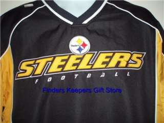 Pittsburgh Steelers Apparel Jersey Pullover Jacket Merchandise NFL