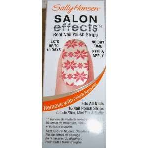 Sally Hansen SALON EFFECTS LIMITED EDITION NEW Winter Collection Snow