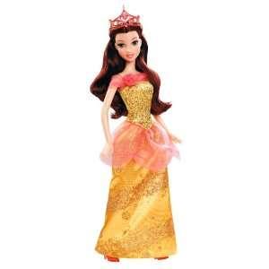 Disney Princess Sparkling Princess Belle Doll   2012 Toys & Games