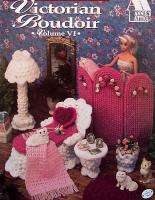 Crochet Victorian Boudoir Annies Fashion Doll Decor