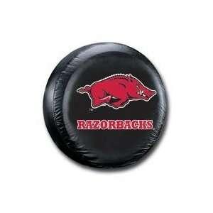 Arkansas Razorbacks UA NCAA Black Spare Tire Cover Sports