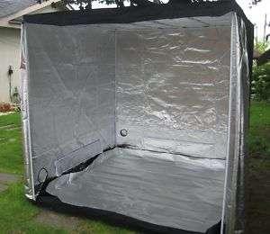 Mylar Hydroponics Grow Tent 77x77x77. Grow Budd Box.