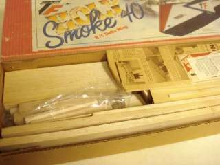 TOP FLITE HOLY SMOKE 40 R/C DELTA WING AIRPLANE KIT*