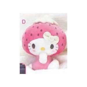 Hello Kitty Strawberry Milk Style Doll Plush (5.5) Type D