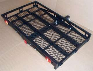 STEEL 2 Hitch Wheel Chair Scooter Bike RAMP Carrier   500 lbs Cap