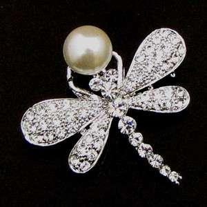 ADDL Item  rhinestone crystal animal brooch pin