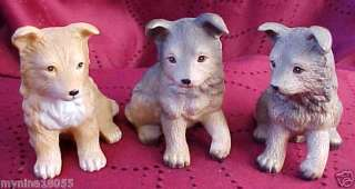 Homco #8828 Dog/Puppy Figurines Retired SET B