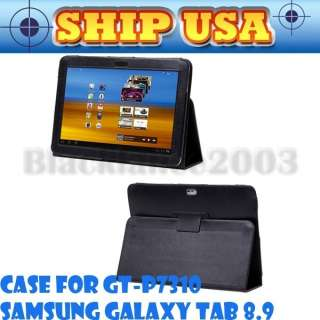 PU Leather Multi Stand Accessory Case Cover for Samsung Galaxy Tab GT