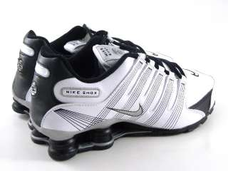 Nike Shox NZ 2.0 White/Black Running Trainer Youth GS Girl/Women Shoes